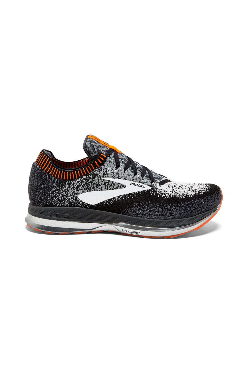 08a5bc0f649 Men s Bedlam Running Shoe - Black Grey Orange – Gazelle Sports