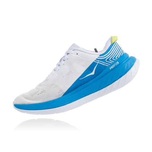 Men's Carbon X Running Shoe - White/Dresden Blue