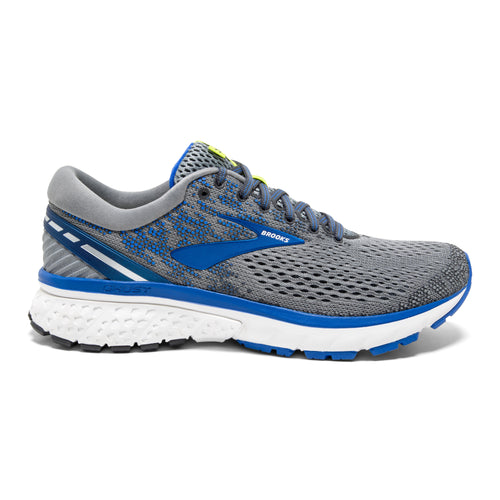 Men's Ghost 11 Running Shoe - Grey/Blue/Silver
