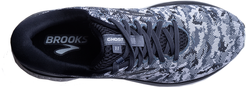 Men's Ghost 11 Running Shoe - Black/Grey/Oyster