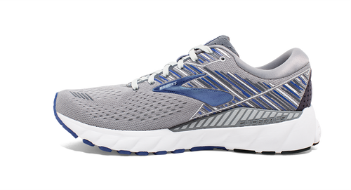 Men's Adrenaline GTS 19 Running Shoe - Grey/Blue/Ebony