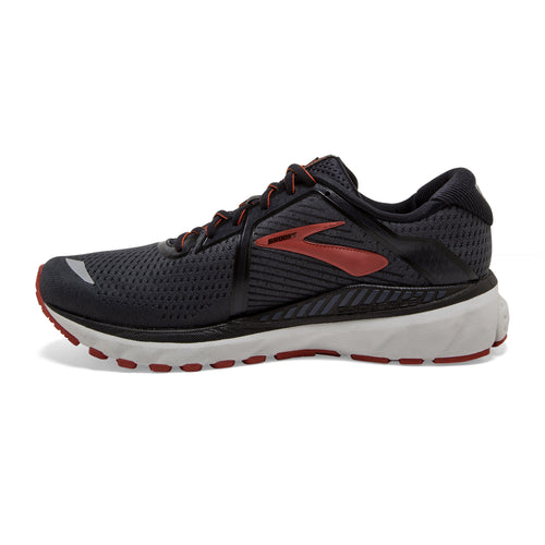 Men's Adrenaline GTS 20 Running Shoe - Black/Ebony/Ketchup