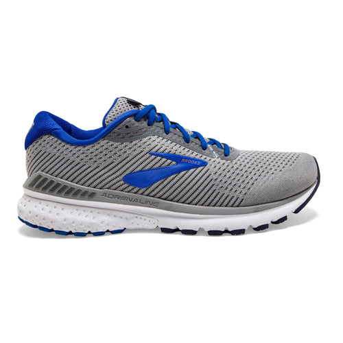 Men's Adrenaline GTS 20 Running Shoe (B-Narrow)- Grey/Blue/Navy