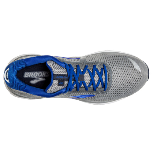 Men's Adrenaline GTS 20 Running Shoe - Grey/Blue/Navy