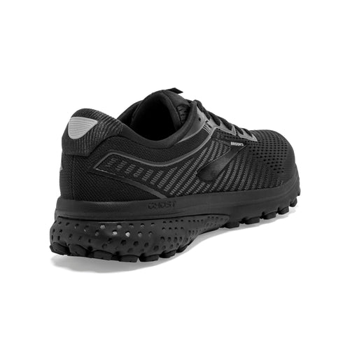 Men's Ghost 12 Running Shoe (4E-Extra Wide) - Black/Grey