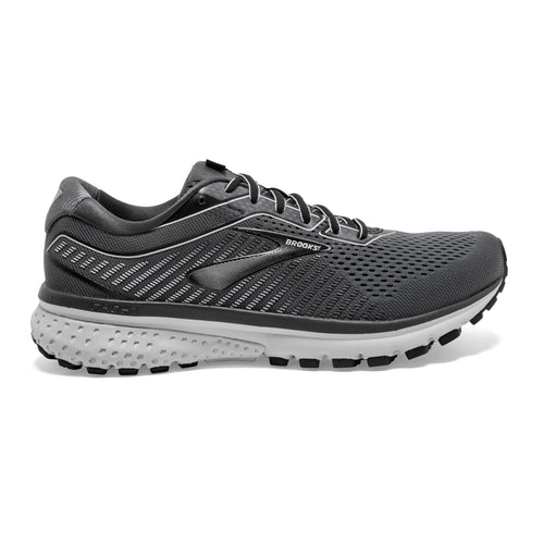 Men's Ghost 12 Running Shoe - Black/Pearl/Oyster