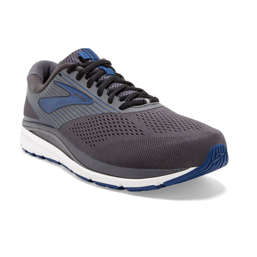 Men's Addiction 14 Running Shoes - Blackened Pearl/Blue/Black