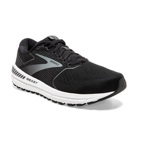 Men's Beast 20 (D - Regular) Running Shoe - Black/Ebony/Grey