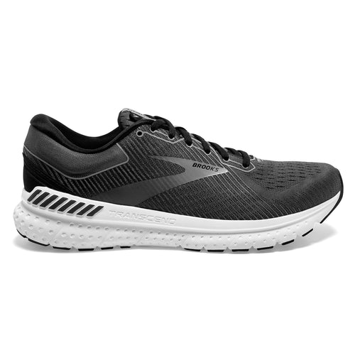 Men's Transcend 7 Running Shoe - Black/Ebony/Grey