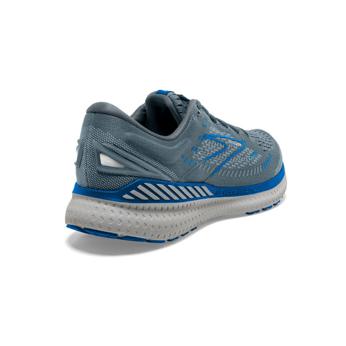 Men's Glycerin GTS 19 Running Shoe - Quarry/Grey/Dark Blue