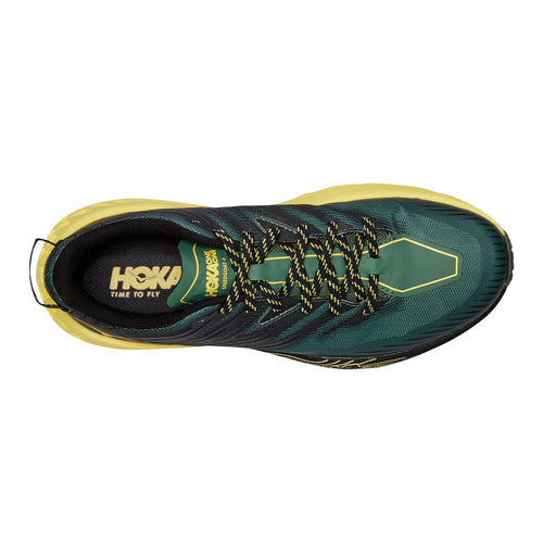 Men's Speedgoat 4 Trail Running Shoe - Myrtle/Limelight