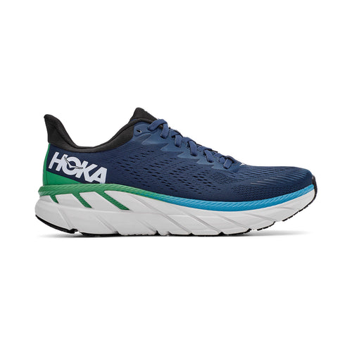 Men's Clifton 7 Running Shoe - Moonlit Ocean/Anthracite