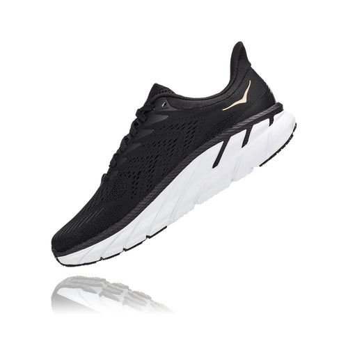 Women's Clifton 7 Running Shoe - Black/Bronze