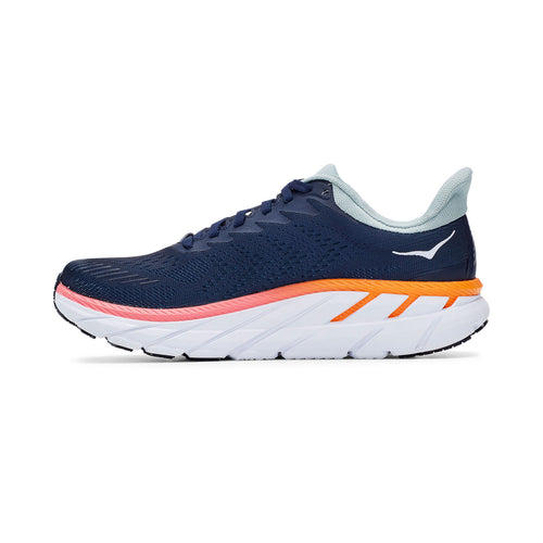 Women's Clifton 7 Running Shoe - Black Iris/Blue Haze