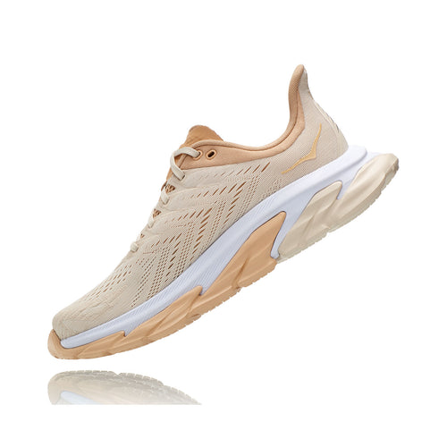 Women's Clifton Edge Running Shoe - Almond Milk/Beige
