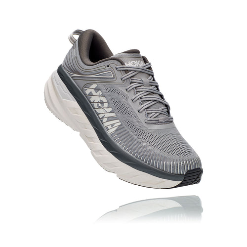 Men's Bondi 7 ( 4E - X-Wide) Running Shoe - Wild Dove/Dark Shadow
