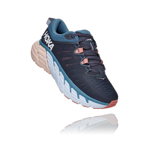Women's Gaviota 3 (D - Wide) Running Shoe - Ombre Blue/Rosette