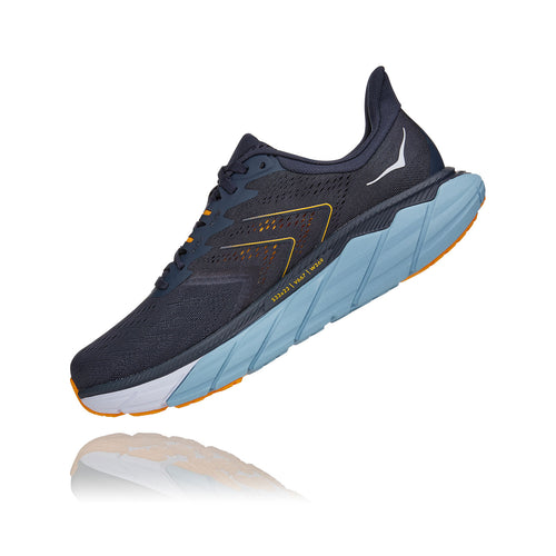 Men's Arahi 5 (2E - Wide) Running Shoe - Ombre Blue/Blue Fog