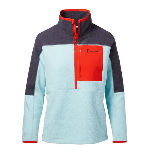 Women's Dorado Half-Zip Fleece Jacket - Graphite & Glacier
