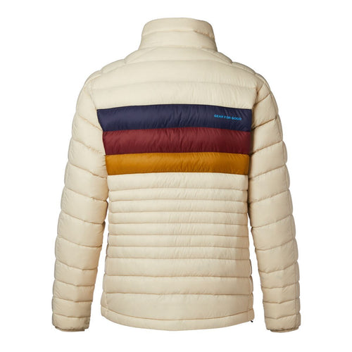 Women's Fuego Down Jacket - Cream Stripes