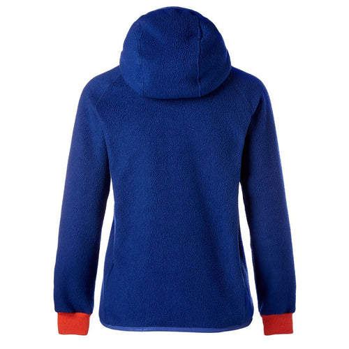 Women's Cubre Hooded Full Zip Fleece Jacket - Admiral