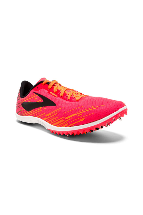 Women's Mach 18 Spike - Pink/Orange/Black
