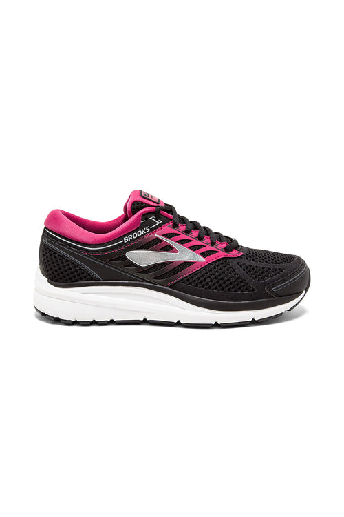 Women's Addiction 13 (2E-Extra Wide) Running Shoe - Black/Pink/Grey