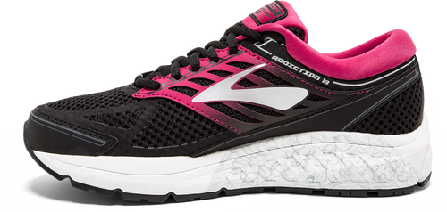 Women's Addiction 13 Running Shoe - Black/Pink/Grey