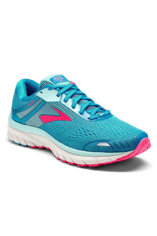 Women's Adrenaline GTS 18 Running Shoes - Blue/Mint/Pink