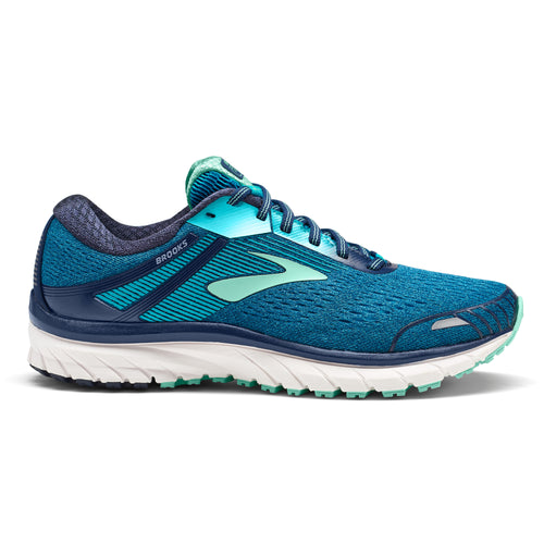 Women's Adrenaline GTS 18 Running Shoe - Navy/Teal/Mint
