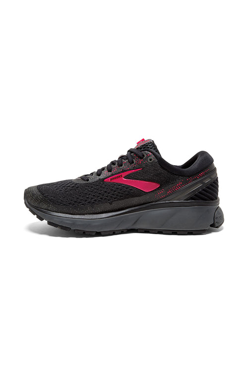 Women's Ghost 11 GTX Running Shoe - Black/Pink/Ebony