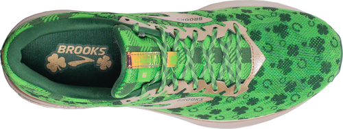 Men's St Patty's Launch 6 Running Shoe - Green/Gold