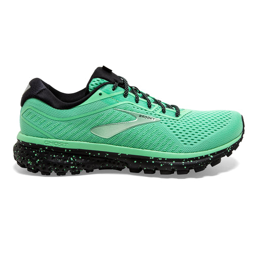 Women's Ghost 12 Running Shoe - PAC Green