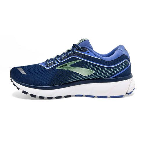 Women's Ghost 12 Running Shoe - Peacoat/Blue/Aqua