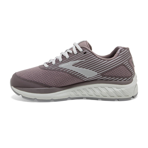 Women's Addiction Walker Suede (D - Wide) Walking Shoe - Shark/Alloy/Oyster