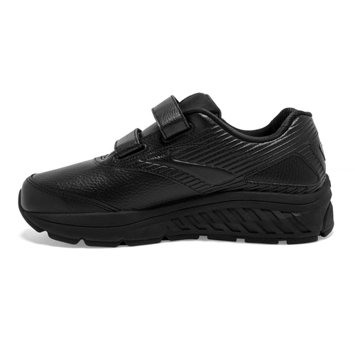 Women's Addiction Walker VStrap 2 Walking Shoes (EE-Extra Wide)- Black/Black