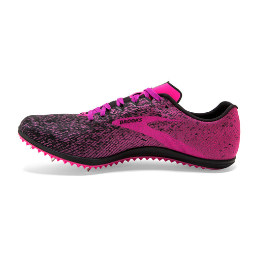 Women's Mach 19 Track Spike - Black/Hollyhock/Pink