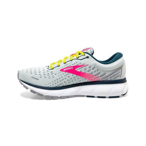 Women's Ghost 13 Running Shoe - Ice Flow/Pink/Pond