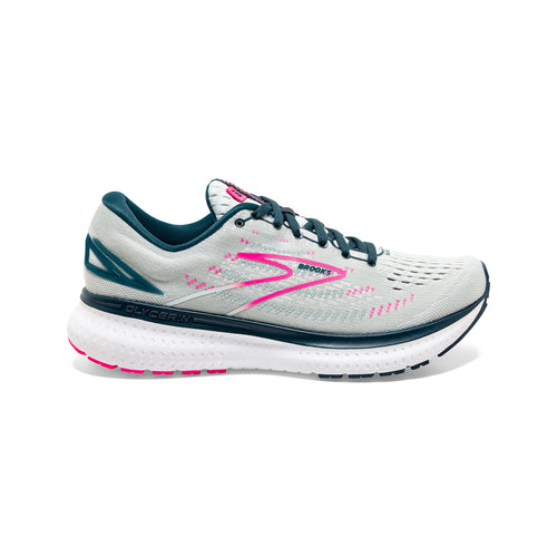 Women's Glycerin 19 (D - Wide) Running Shoe - Ice Flow/Navy/Pink