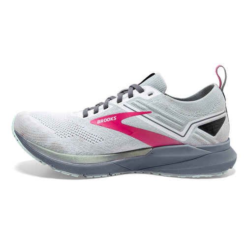 Women's Ricochet 3 Running Shoe - White/Ice Flow/Pink