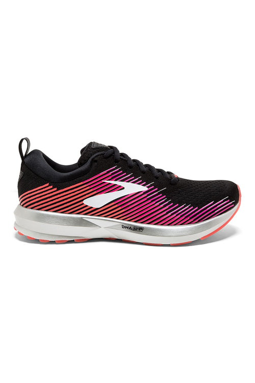 Women's Levitate Running Shoe - Black/Pink/Almond