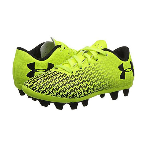 Youth CF Force 3.0 Firm Ground Shoes - Bright Yellow/Black