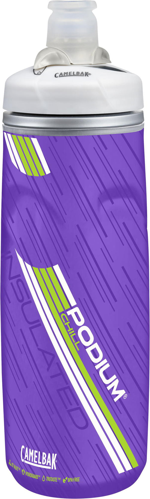 Camelbak Podium Chill 21oz- Purple / Lime