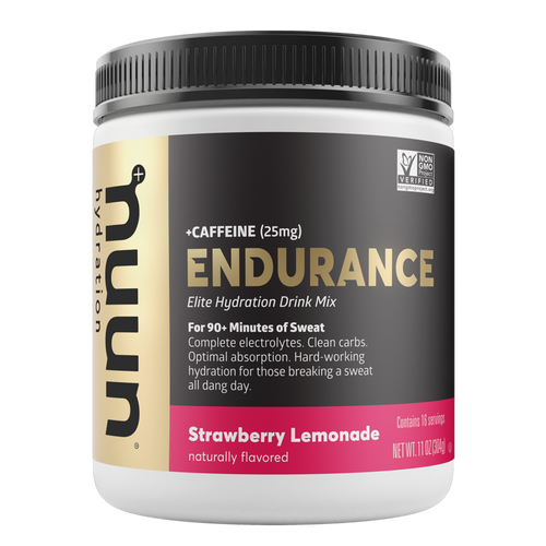 Endurance Can Strawberry Lemonade + Caffeine