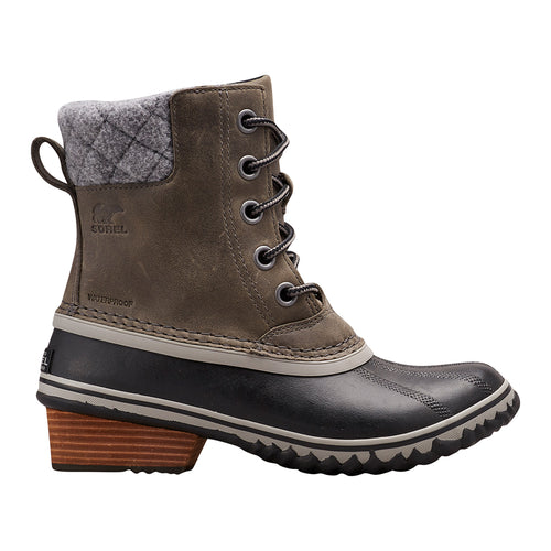 Women's Slimpack II Lace Boot - Quarry/Black