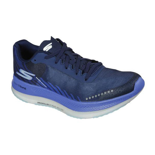 Women's GOrun Razor Excess (B - Regular) Running Shoe - Black/Blue
