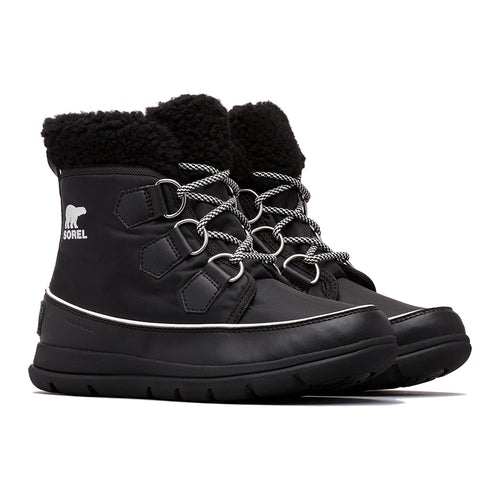 Women's Explorer Carnival Boot - Black/Sea Salt