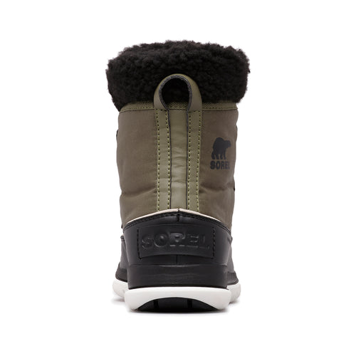 Women's Sorel Explorer Carnival Boot - HIKER GREEN-BLACK