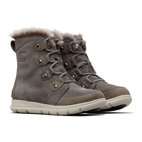 Women's Explorer Joan Boot - Quarry/Black