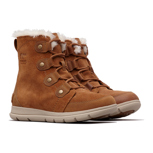 Women's Explorer Joan Boot - Camel Brown/Ancient Fossil